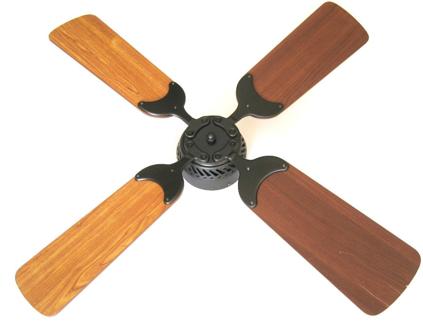 Global Electric 42-inch Non-Brush DC12V Ceiling Fan, Oil Rubbed Bronze Finish with Remote Control, Light Cherry/Cherry Reversible Blades  The Cabin Depot- The Cabin Depot Off-Grid Off Grid Living Solutions Cabin Cottage Camp Solar Panel Water Heater Hunting Fishing Boats RVs Outdoors