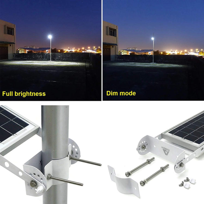 Solar Street and Path Dusk to Dawn Lamp