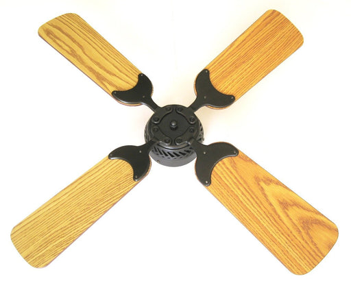 Global Electric 36-inch Non-Brush DC12V Ceiling Fan, Oil Rubbed Bronze with Wall Control, Oak/Light Oak Reversible Blades  The Cabin Depot- The Cabin Depot Off-Grid Off Grid Living Solutions Cabin Cottage Camp Solar Panel Water Heater Hunting Fishing Boats RVs Outdoors