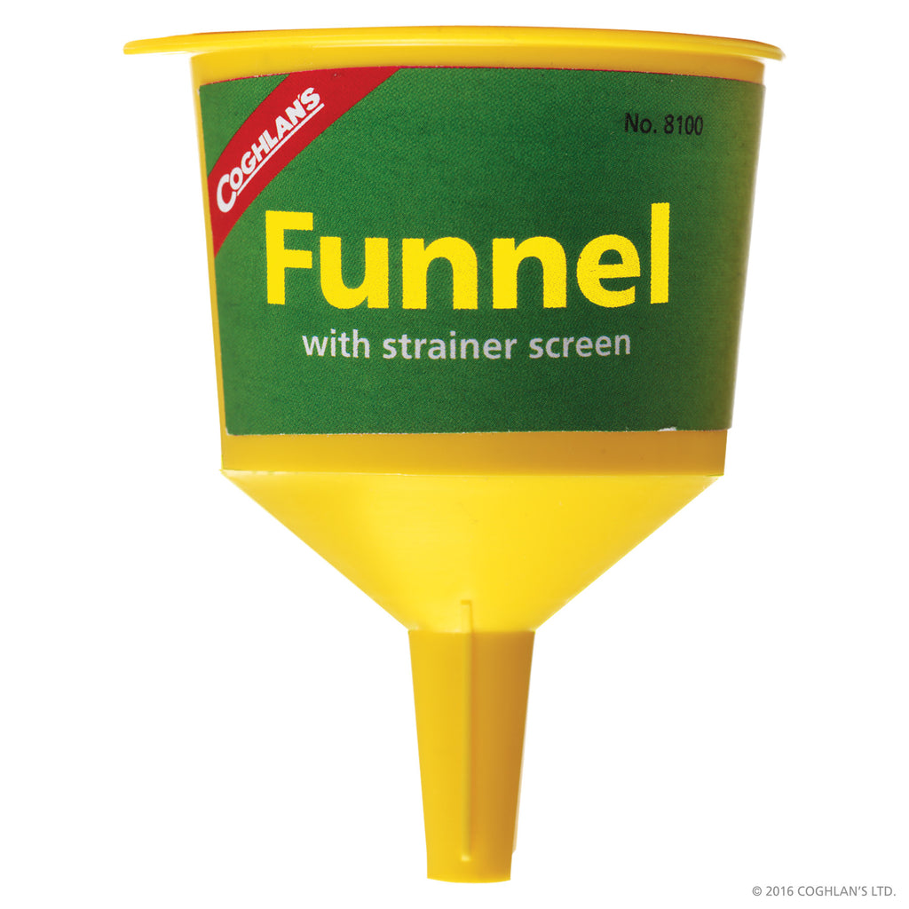 Coghlans Funnel with strainer screen