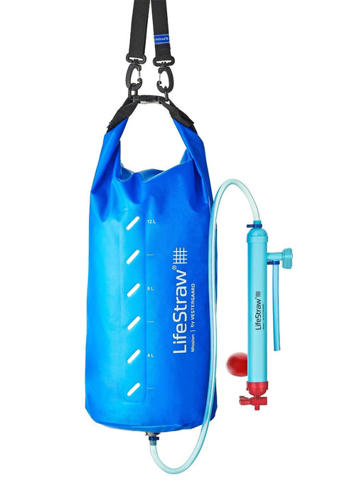 LifeStraw Mission 12L Water Filtration Eartheasy- The Cabin Depot Off-Grid Off Grid Living Solutions Cabin Cottage Camp Solar Panel Water Heater Hunting Fishing Boats RVs Outdoors