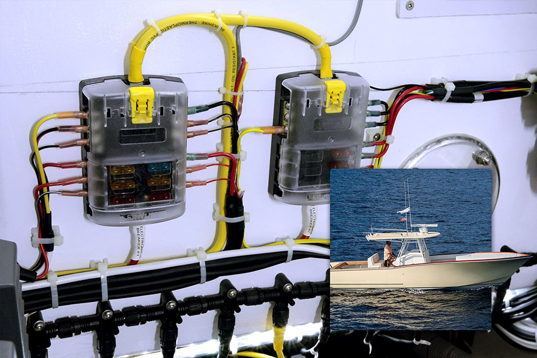 Blue Sea Systems ST Blade ATO/ATC Fuse Blocks  The Cabin Depot- The Cabin Depot Off-Grid Off Grid Living Solutions Cabin Cottage Camp Solar Panel Water Heater Hunting Fishing Boats RVs Outdoors