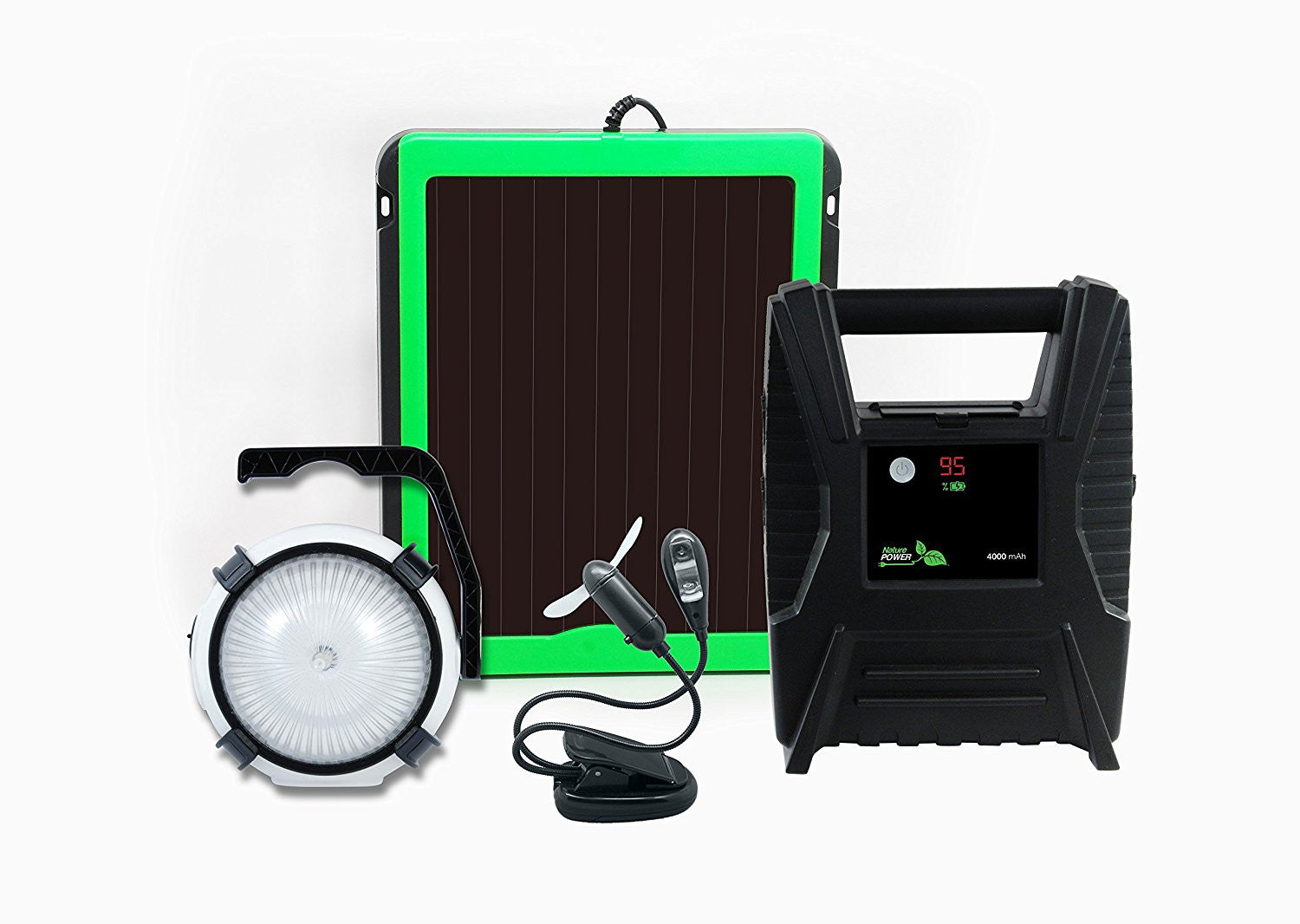 Nature Power Emergency Solar Power System Accessories The Cabin Supply Depot- The Cabin Depot Off-Grid Off Grid Living Solutions Cabin Cottage Camp Solar Panel Water Heater Hunting Fishing Boats RVs Outdoors