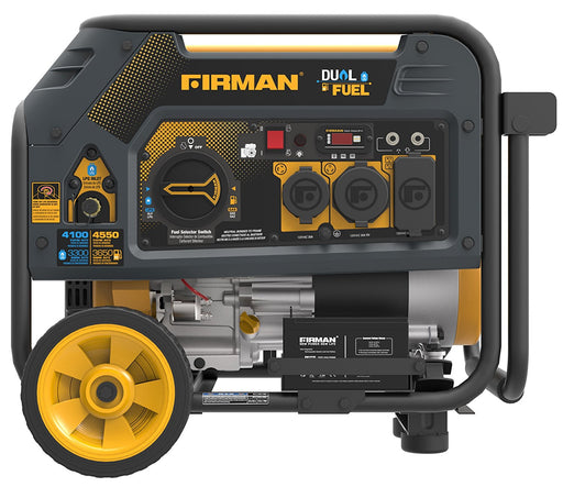 Firman Generator H03651 Hybrid Series DUAL FUEL (Propane or Gas) 3650 Watt Generator Firman- The Cabin Depot Off-Grid Off Grid Living Solutions Cabin Cottage Camp Solar Panel Water Heater Hunting Fishing Boats RVs Outdoors