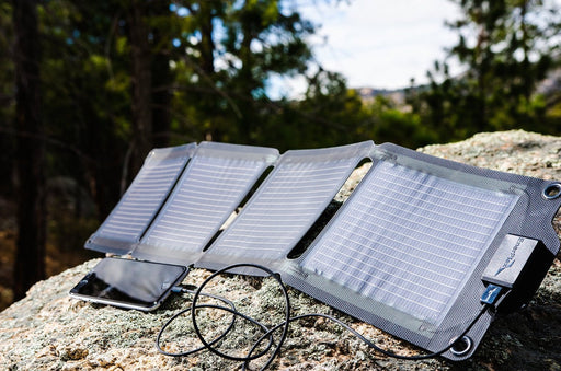 EnerPlex Universal (6W) Kickr IV portable Solar Charger Charging Solutions EnerPlex- The Cabin Depot Off-Grid Off Grid Living Solutions Cabin Cottage Camp Solar Panel Water Heater Hunting Fishing Boats RVs Outdoors