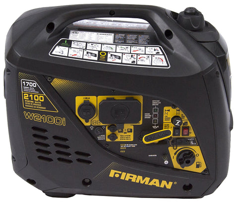 Firman Generator W01781 Whisper Series 1700 Watt
