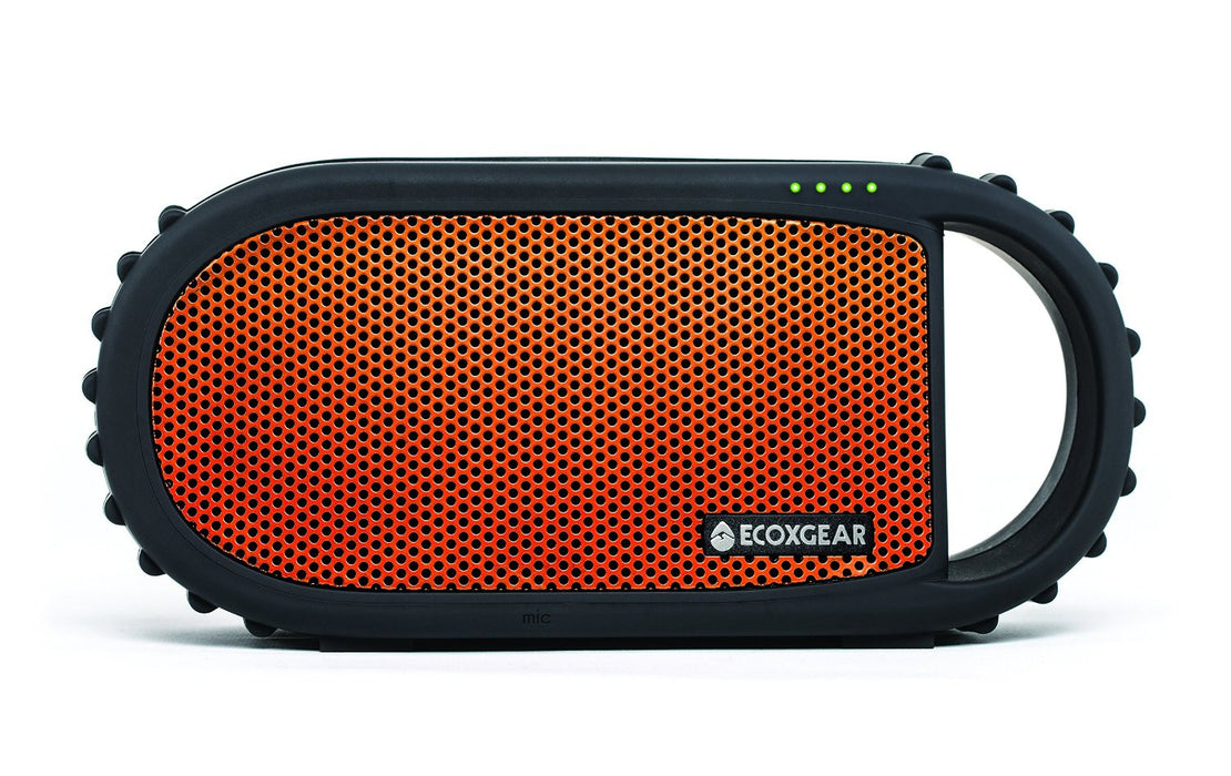 ECOXGEAR: Ecocarbon Waterproof Speaker Entertainment ECOXGEAR- The Cabin Depot Off-Grid Off Grid Living Solutions Cabin Cottage Camp Solar Panel Water Heater Hunting Fishing Boats RVs Outdoors