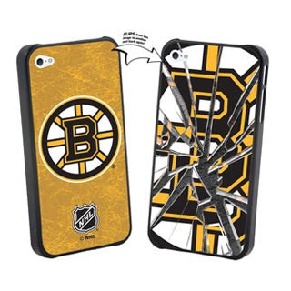 iPhone 5/5S NHL® Boston Bruins Broken Glass Case (Limited Edition) Phone Cases The Cabin Depot- The Cabin Depot Off-Grid Off Grid Living Solutions Cabin Cottage Camp Solar Panel Water Heater Hunting Fishing Boats RVs Outdoors