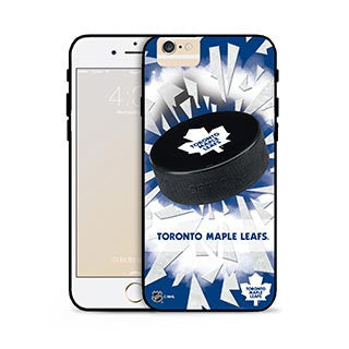 iPhone 6/6S NHL® Toronto Maple Leafs Puck Shatter Cover (Limited Edition) Phone Cases The Cabin Depot- The Cabin Depot Off-Grid Off Grid Living Solutions Cabin Cottage Camp Solar Panel Water Heater Hunting Fishing Boats RVs Outdoors