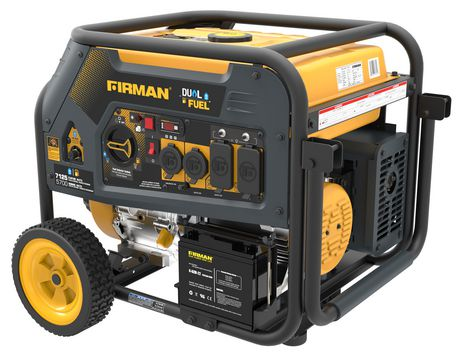Firman Generator H05753 Hybrid Series DUAL FUEL (Propane or Gas) 5700 Watt Generator Firman- The Cabin Depot Off-Grid Off Grid Living Solutions Cabin Cottage Camp Solar Panel Water Heater Hunting Fishing Boats RVs Outdoors