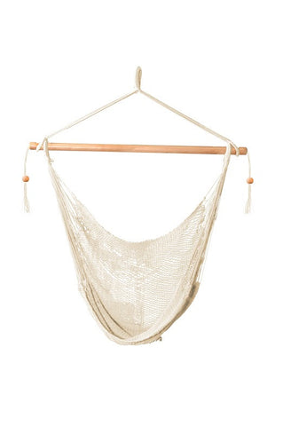 Bliss Tahiti Cotton Rope Hammock Chair