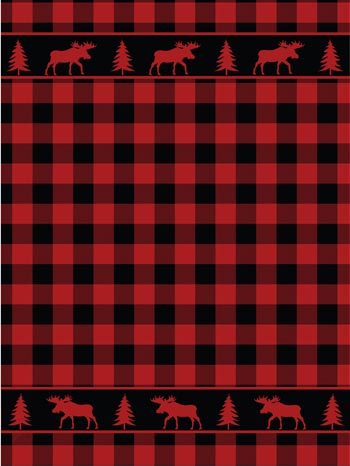 "Coral Fleece Bufalo Plaid Blanket  70"" x 90"""