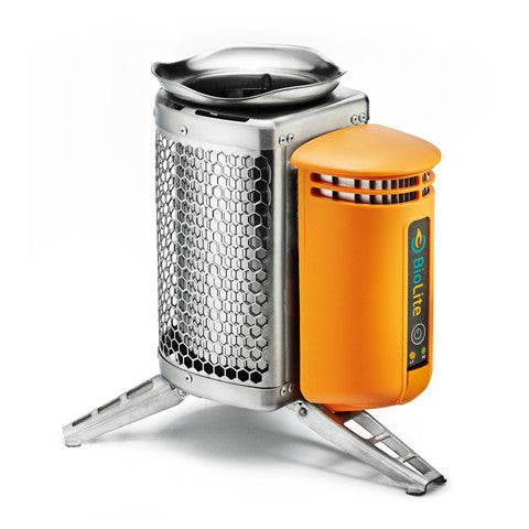 Biolite CampStove USB charger with flexlight Charging Solutions Biolite Energy- The Cabin Depot Off-Grid Off Grid Living Solutions Cabin Cottage Camp Solar Panel Water Heater Hunting Fishing Boats RVs Outdoors