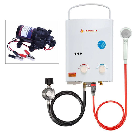 Camplux, Eccoflo, Tankless Water Heater