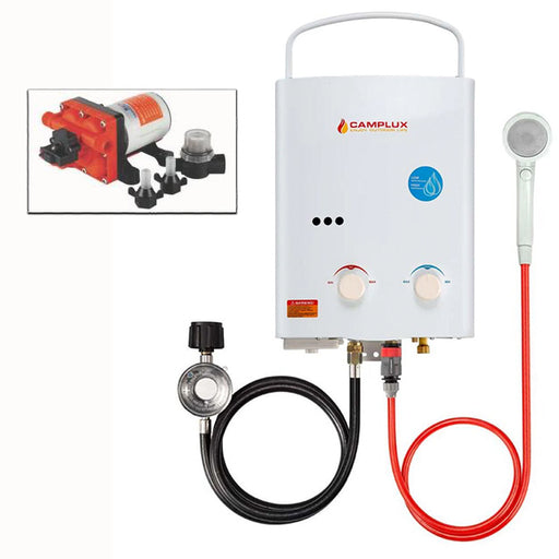 Camplux, Seaflo, Tankless Water Heater