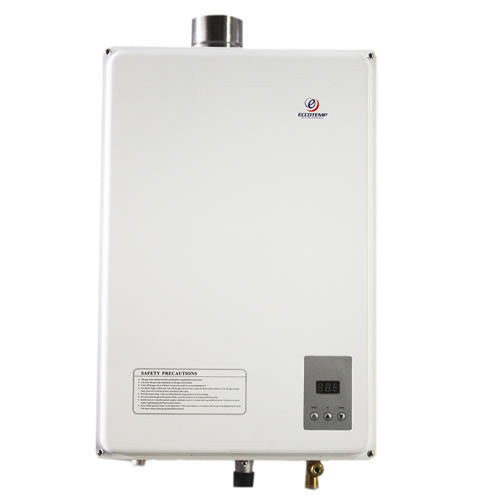 Eccotemp 45HI-LP Indoor Liquid Propane Tankless Water Heater CSA Water Heater Eccotemp- The Cabin Depot Off-Grid Off Grid Living Solutions Cabin Cottage Camp Solar Panel Water Heater Hunting Fishing Boats RVs Outdoors