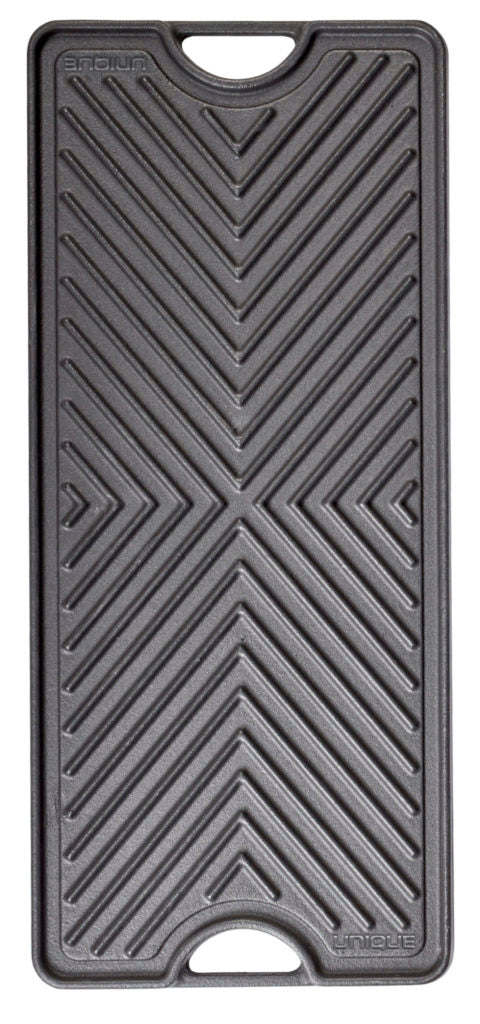 Unique Reversible Cast Iron Griddle Grill Plate