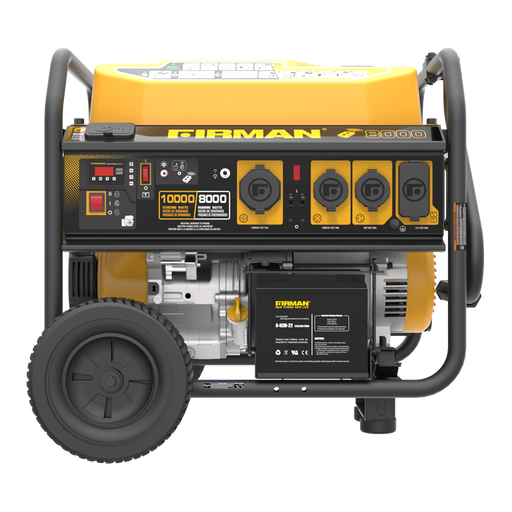 Firman Generator P08004 Performance Series 10,000/8000 Watt