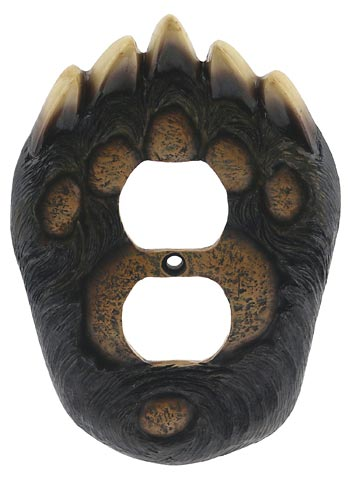 Bear Paw Outlet Cover