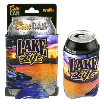 Can Wrap Coozie - Lake Life