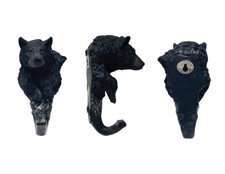 BEAR HEAD COAT HOOK