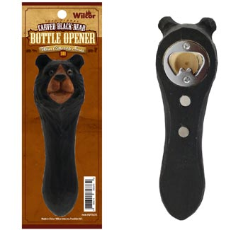 Bear Bottle Opener with Magnet