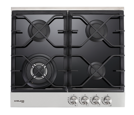 GaslandChef 24'' Black Tempered Glass Cooktop (LPG/Natural Gas)