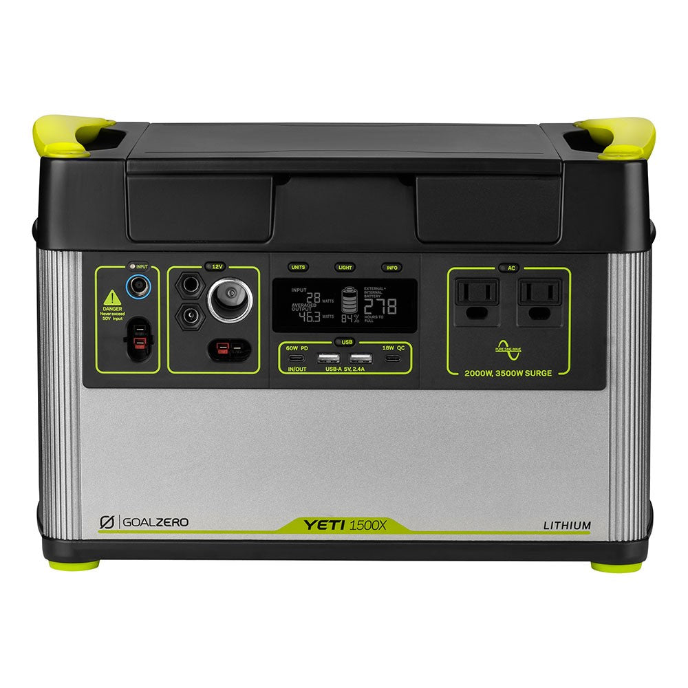 GOAL ZERO YETI 1500X PORTABLE POWER STATION