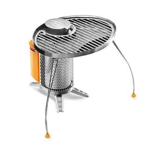 Biolite CampStove Bundle Charging Solutions Biolite Energy- The Cabin Depot Off-Grid Off Grid Living Solutions Cabin Cottage Camp Solar Panel Water Heater Hunting Fishing Boats RVs Outdoors