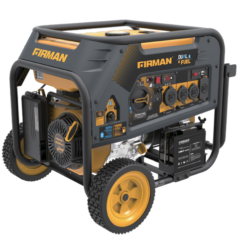 Firman Generator H08053 Hybrid Series DUAL FUEL (Propane or Gas) 8000 Watt
