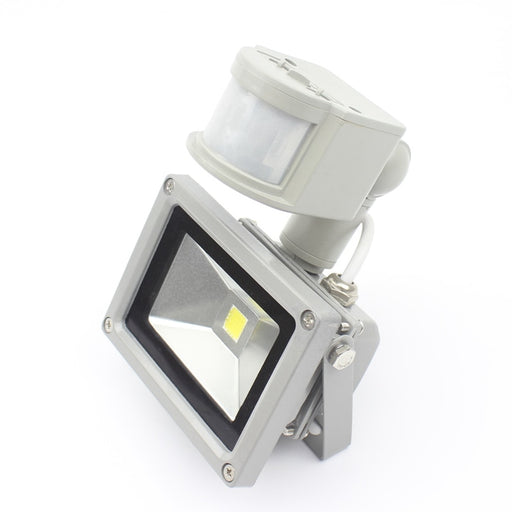 TCD- 10W 12V DC Led Outdoor Motion Sensor Floodlight- Pure White