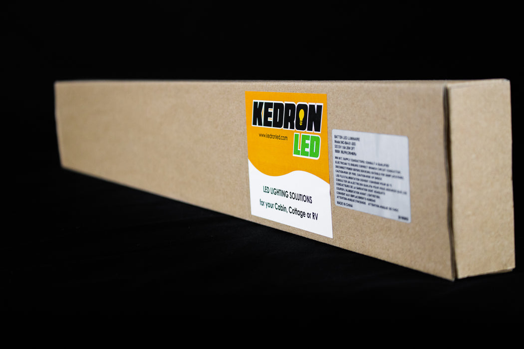 KEDRON LED 20 watt 24 inch 12vDC cool white
