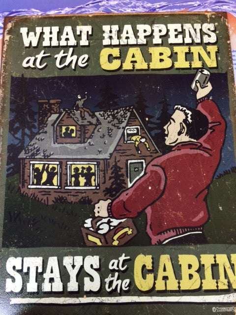 Desperate Tin Sign Accessories The Cabin Supply Depot- The Cabin Depot Off-Grid Off Grid Living Solutions Cabin Cottage Camp Solar Panel Water Heater Hunting Fishing Boats RVs Outdoors
