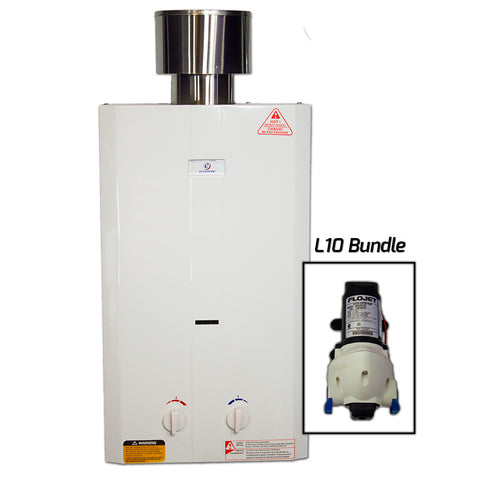 Eccotemp L10 Tankless Water Heater w/ Flojet Pump