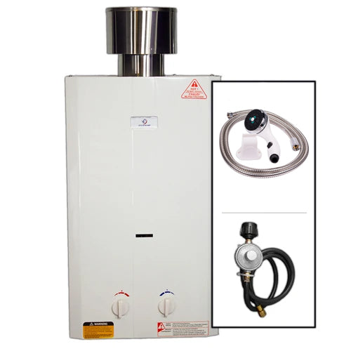 Eccotemp L10 High Capacity Tankless Water Heater with Shower Head