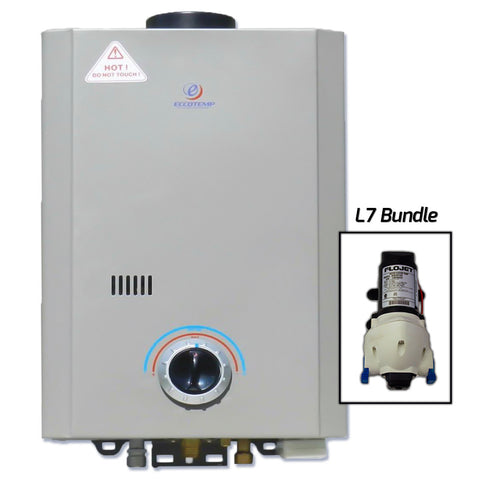 Eccotemp L7 Tankless Water Heater w/ Flojet Pump