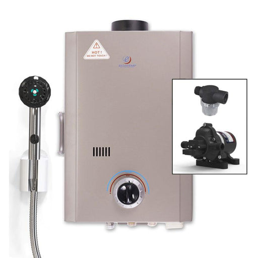 Eccotemp L7 Tankless Water Heater w/ Eccoflo Pump & Strainer