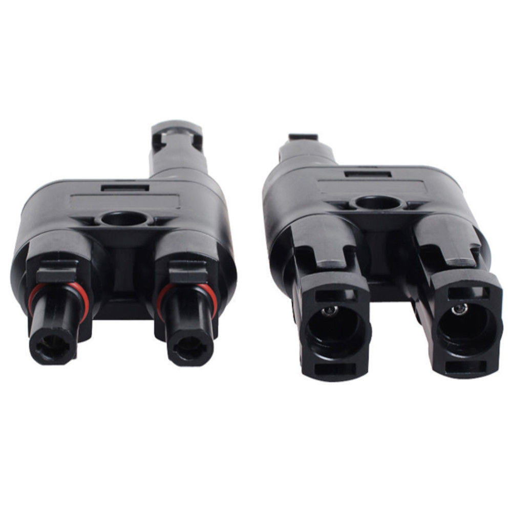 MC4 T connector 2 to 1 (pair)