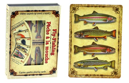 Playing Cards Trout/Fly 2 Pack