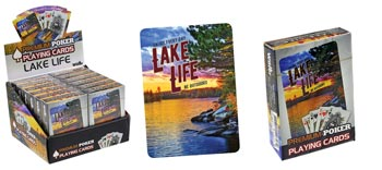 PLAYING CARDS LAKE LIFE