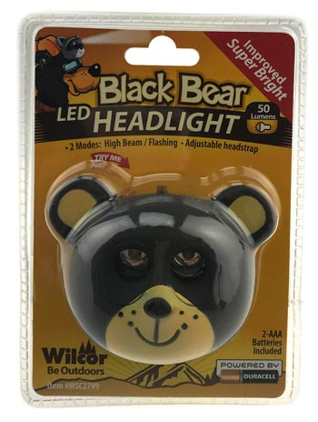 BLACK BEAR HEADLIGHTS