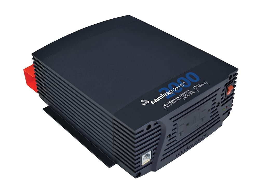 Samlex NTX-2000-12 Pure Sine Wave 2000 Watt Inverter with Remote