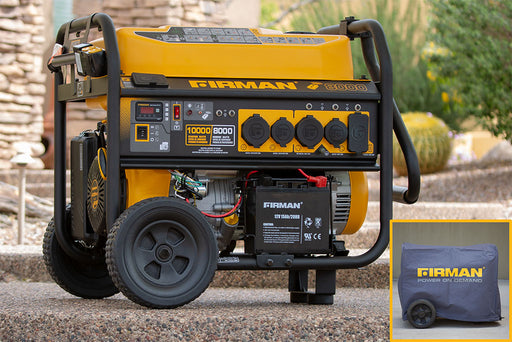Firman Generator P08007 Performance Series 10,000/8000 Watt