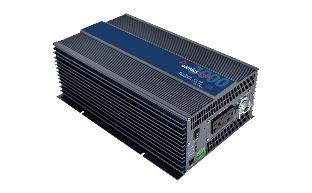 Samlex PST-3000-12 Pure Sine 3000w inverter (Hardwire capable)
