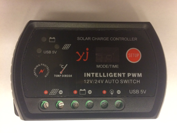 TCD - PWM 20 Amp charge controller