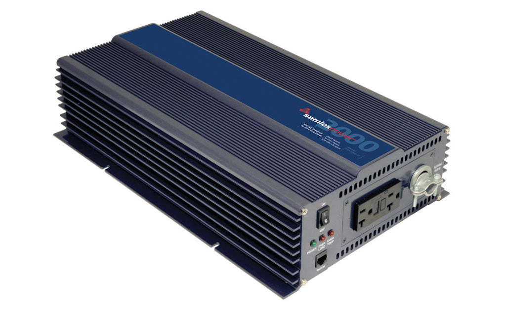Samlex PST-2000-12 Pure Sine 2000w inverter (Hardwire capable)
