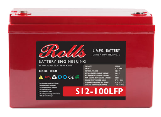 Rolls S12-100LFP 12v 100Ah LiFePO4 *In Stock*