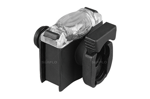 SEAFLO Filter rectangle + 3/4 male to 3/4 female quick attach
