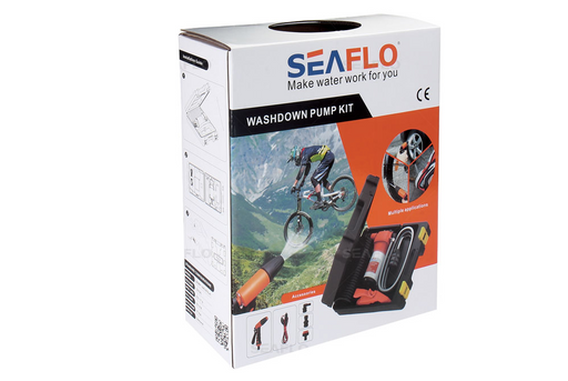 SEAFLO wash down Kit 4.5GPM 70 PSI