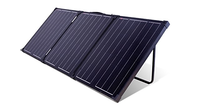 150 Watt Portable 12V Folding Solar Panel Kit Alternative Energy The Cabin Depot- The Cabin Depot Off-Grid Off Grid Living Solutions Cabin Cottage Camp Solar Panel Water Heater Hunting Fishing Boats RVs Outdoors